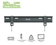 "KlipX LCD/LED Bracket Slim 23-46"" Load 45Kgs Black KFM-335"
